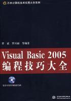 Visual Basic 2005编程技巧大全(附光盘)